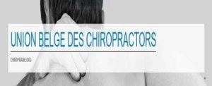 the Belgian Union of Chiropractors
